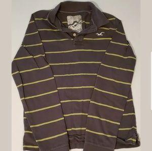 Vintage Hollister Long Sleeve Polo Shirt